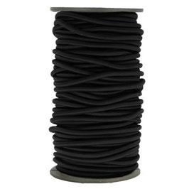 Corde élastique 5 mm - Noir