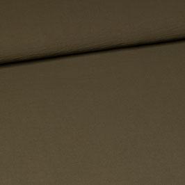 Crépon kaki - Coupon de 1,1 m