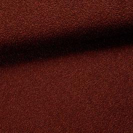 Tissu bouclette - Lie de vin