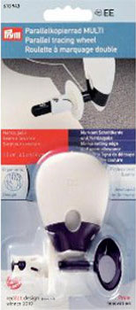 Roulette à marquage double ergonomique