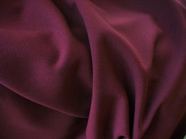 Gabardine bordeaux intense - Coupon de 40 cm