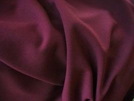 Gabardine bordeaux intense - Coupon de 40 cm