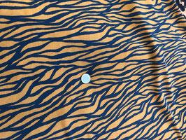Viscose Zebra Print