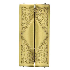 Boucle ceinture 60 mm - Or vieilli