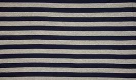 Jersey rayé Gris-Bleu