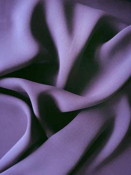 Tissu fluide aubergine