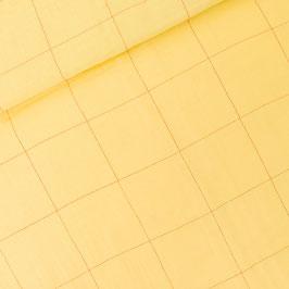 Double gaze Thin Grid XL Popcorn Yellow
