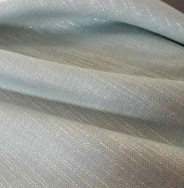 Coton à chevrons - Vert d'eau