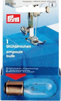 Ampoule à baïonnette pour machine à coudre