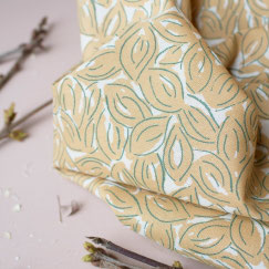 Tissu Petal Mustard Atelier Brunette