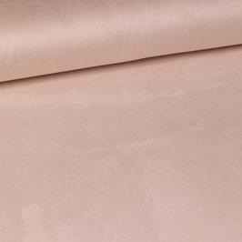 Suédine rose pastel