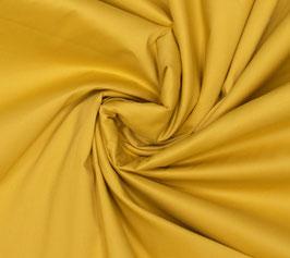 Coton Stretch - Jaune soleil