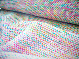 Tweed de coton multicolore