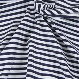Jersey milano (punta) rayé bleu