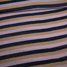 Maille Lurex stripes