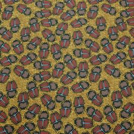 Popeline de coton Bug-lis