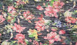 Jersey maille fleuri