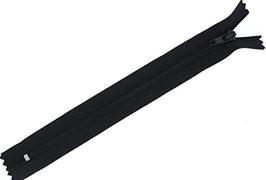 Fermeture éclair (15 cm) - Noir