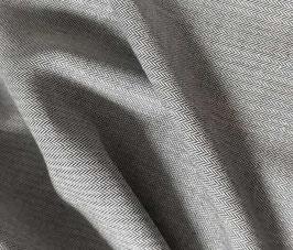Coton à chevrons - Bleu