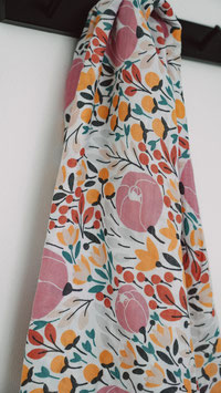Swaddle Musselintuch Garden Floral