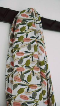 Swaddle Musselintuch Leafy