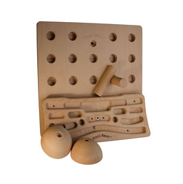 Super Saver Set: Kraxlboard, Pegboard and  Slopers