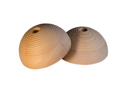 Round slopers, ribbed