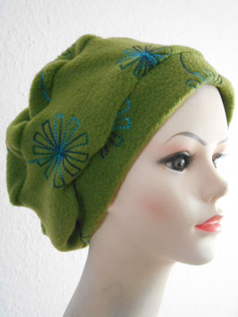 "Fleece-Turban ""Blüte"""