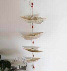 Guirlande de bateaux - Crépuscule
