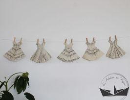 Guirlande de robes - Classic'