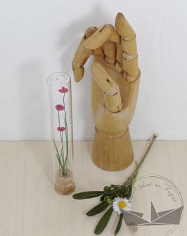 Fiole fleurs - Cyclamen