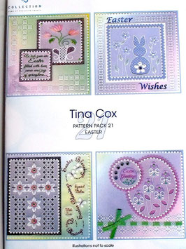 PATTERN PACK 21 - EASTER BY TINA COX