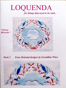 PATTERN PACK 3 BY GERALDINE PRICE