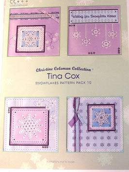 PATTERN PACK 10 - SNOWFLAKES BY TINA COX