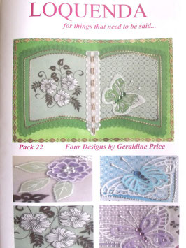 PATTERN PACK 22 BY GERALDINE PRICE