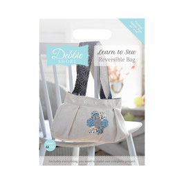 DEBBIE SHORE LEARN TO SEW - REVERSIBLE BAG