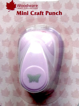 WOODWARE MINI CRAFT PUNCH - BUTTERFLY