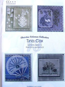 PATTERN PACK 13 - PEACOCK ELEGANCE BY TINA COX
