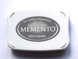 MEMENTO GRAY FLANNEL INK PAD
