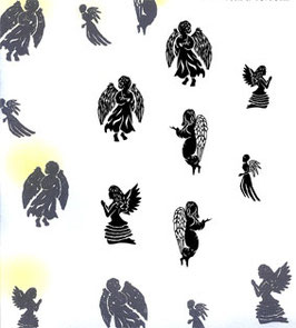 MAJESTIX PEG STAMPS - HOST OF ANGELS