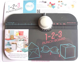WE R MEMORY KEEPERS - 1-2-3 PUNCH BOARD