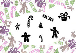 MAJESTIX PEG STAMPS - CHRISTMAS TREATS
