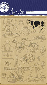 AURELIE CLEAR STAMPS - MADE IN HOLLAND