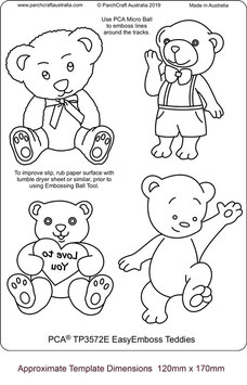 PCA TEMPLATE TEDDIES