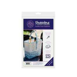 THREADERS FUSIBLE FOAM STABILISER