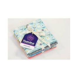 THREADERS FAT QUARTER BUNDLE - COTTONTAIL