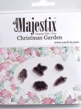MAJESTIX PEG STAMPS - CHRISTMAS GARDEN