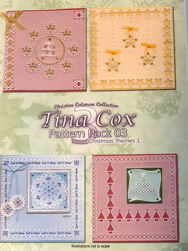 PATTERN PACK  3 - CHRISTMAS THEMES 1 BY TINA COX