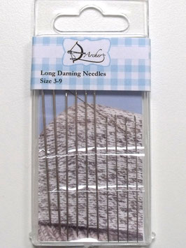 LONG DARNING NEEDLES SIZE 3-9