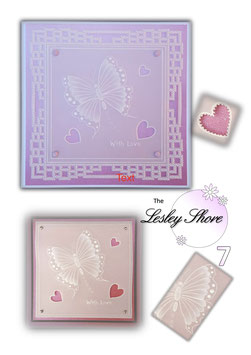THE LESLEY SHORE COLLECTION - BUTTERFLY CARD PACK 7